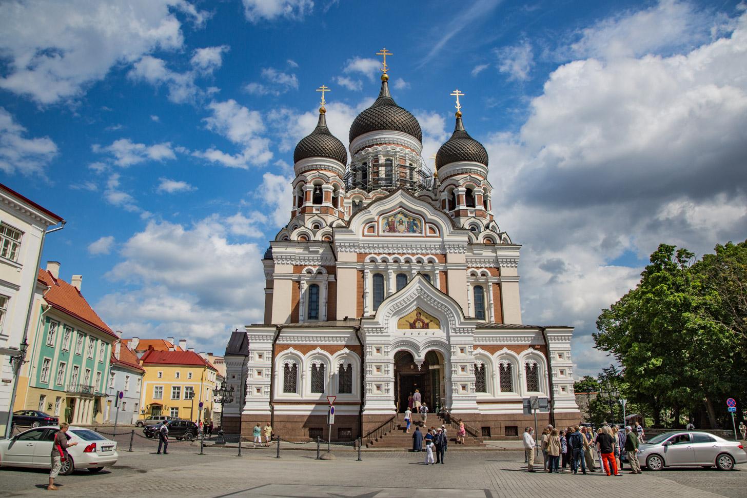 De Alexander Nevski-kathedraal in Tallinn