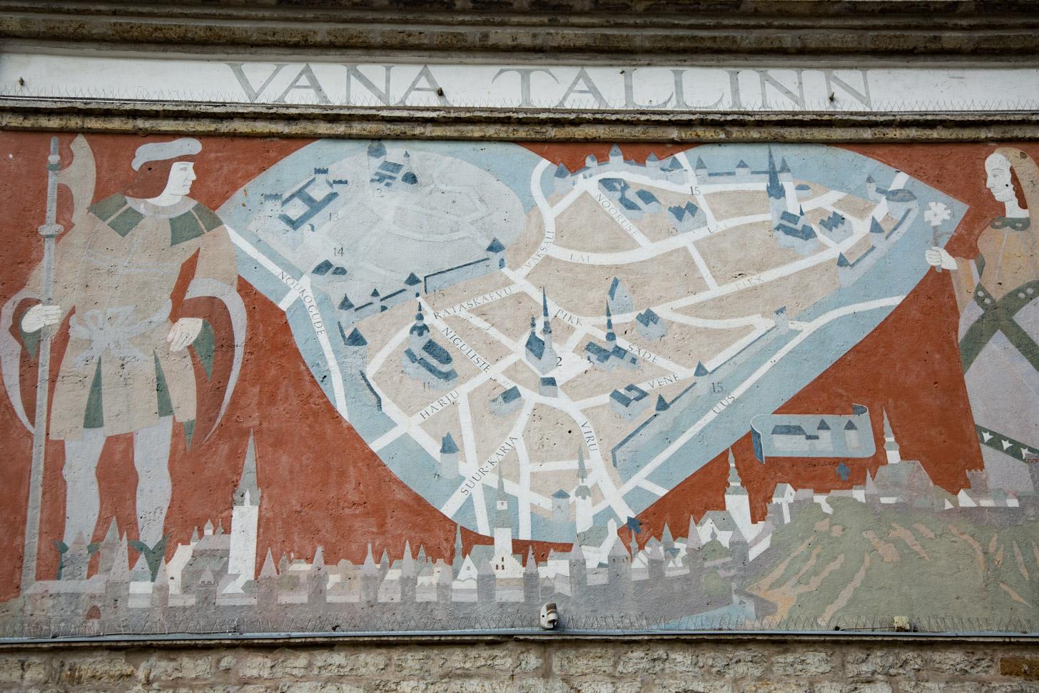 Tallinn heel lang geleden.